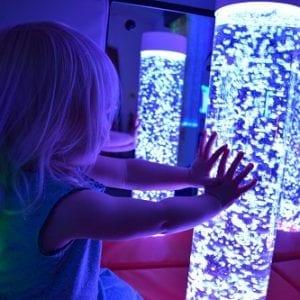 bubble tubes sm sensory room