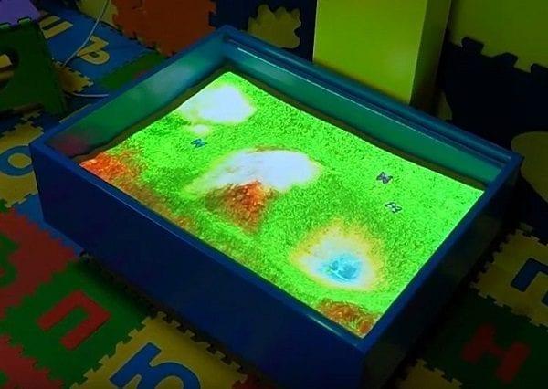 magic sand box sense sensory 5 web