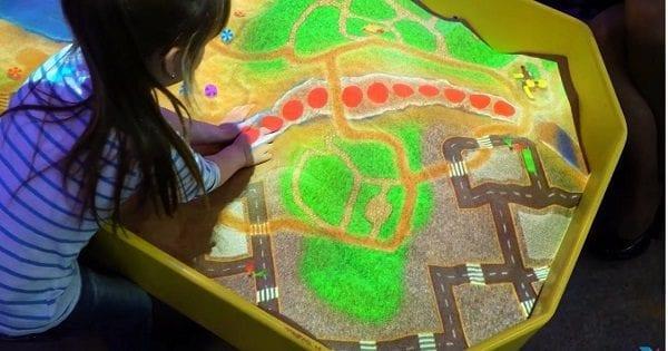 magic sand box sense sensory web