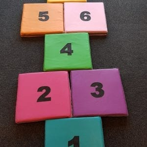 musical hopscotch pads