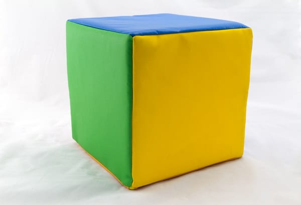 Sensory soft play cube web