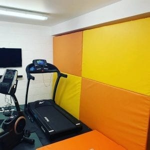 gym foam wall pads