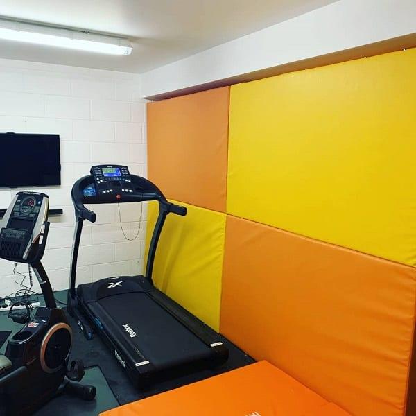 gym foam wall pads